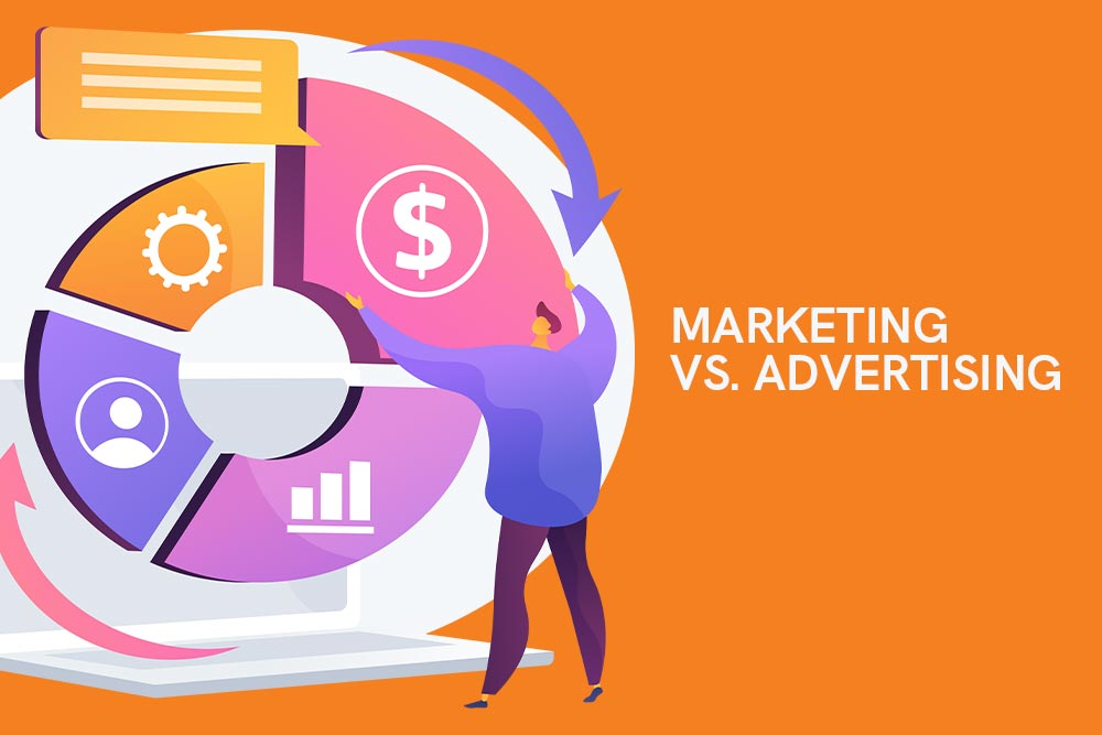 The Difference Between Advertising and Marketing